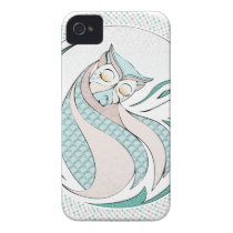 Owl Illustration - Owl Illustration iPhone 4 Case