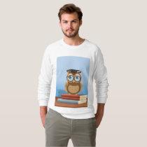 Owl illustration sweatshirt