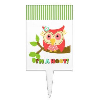 Owl I'm a Hoot Cake Topper