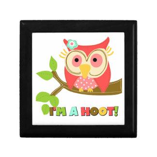 Owl I'm a Hoot Jewelry Box