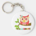 Owl I'm a Hoot Keychains