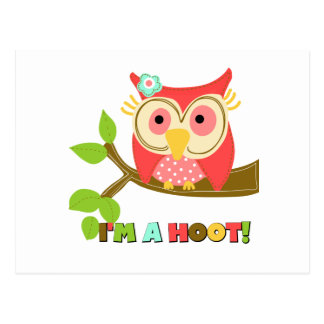 Owl I'm a Hoot Postcard