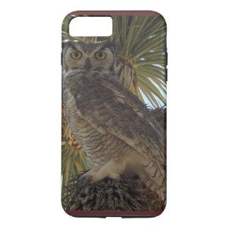 Owl in a Joshua Tree iPhone Case