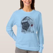 Owl in a Rainstorm T-Shirt