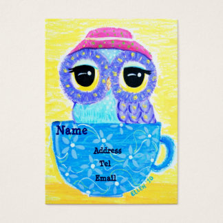 Owl In A Teacup Business Card