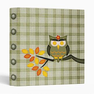 Owl in a tree Binder
