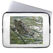 Owl in a tree laptop sleeve