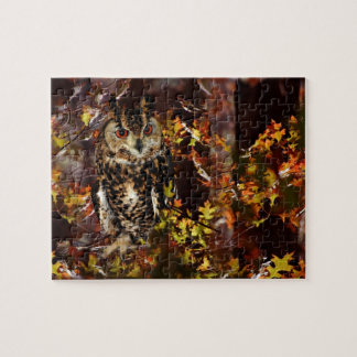 Owl in Autumn Puzzle