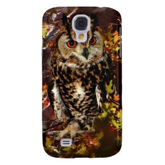 Owl in Autumn Samsung Galaxy S4 Case
