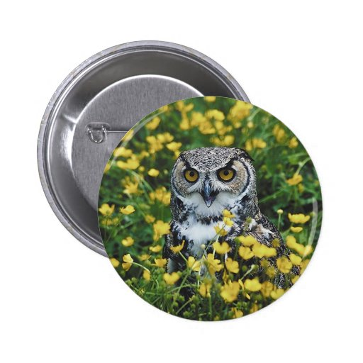 Owl in Buttercups Buttons