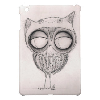 Owl in Cat-Hat Cover For The iPad Mini