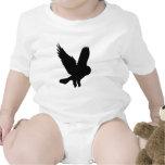 Owl in Flight Baby Bodysuit