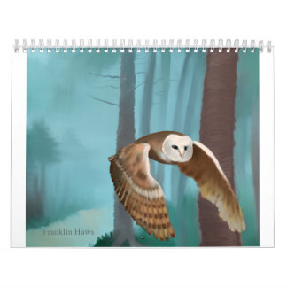Owl in Flight Calendar