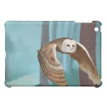 Owl in Flight iPad Mini Cases