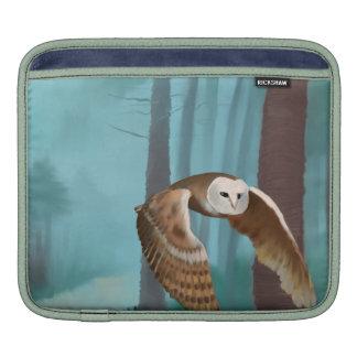 Owl in Flight iPad Sleeve