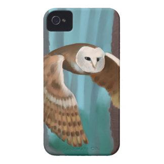 Owl in Flight iPhone 4 Case