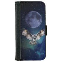 Owl in Flight iPhone 6/6s Wallet Case