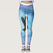 Owl In Flight Leggings