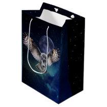 Owl in Flight Medium Gift Bag