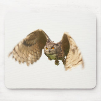 Owl in Flight Mousepad