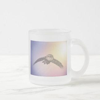 owl in flight mug