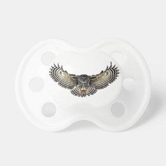 Owl in Flight Pacifier