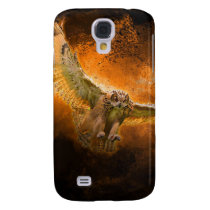 Owl in Flight Samsung Galaxy S4 Cover