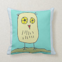 Owl in Forest pillow