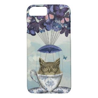 Owl In Teacup 2 iPhone 7 Case