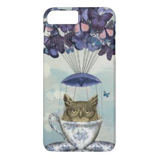 Owl In Teacup 2 iPhone 7 Plus Case