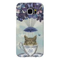 Owl In Teacup 2 Samsung Galaxy S6 Case