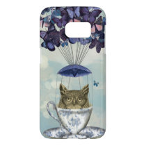 Owl In Teacup 2 Samsung Galaxy S7 Case