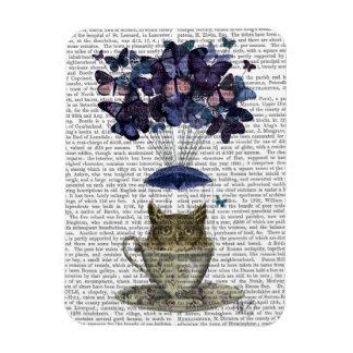 Owl In Teacup Magnet
