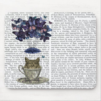 Owl In Teacup Mouse Pad