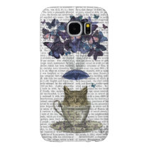 Owl In Teacup Samsung Galaxy S6 Case
