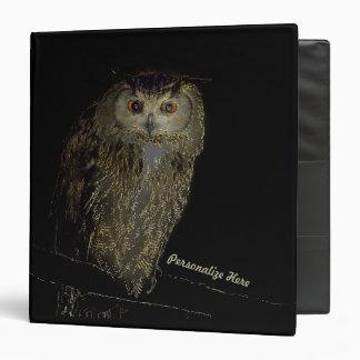 Owl in the Night Binder