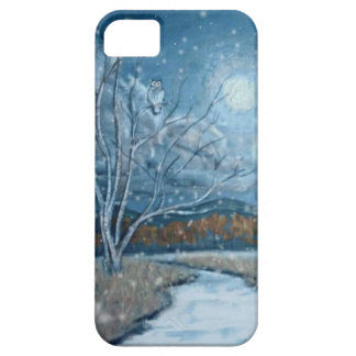 owl in the snow iPhone 5 cover