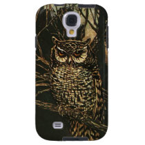 Owl in the Woods Galaxy S4 Case