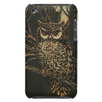 Owl in the Woods iPod Touch Case