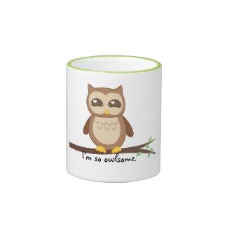 Owl in Tree Mug