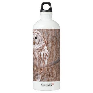 Owl in Tree Nature Bird Add Text SIGG Traveler 1.0L Water Bottle