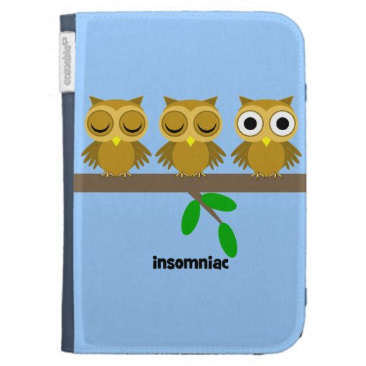 owl insomniac case for the kindle