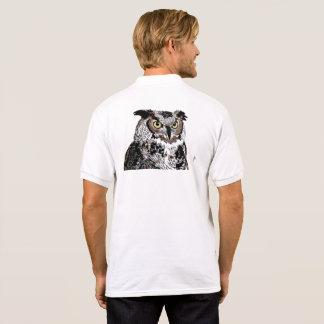 owl inspiration polo shirt