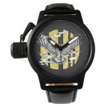 owl inspiration wrist watch