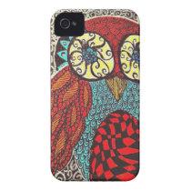 Owl iPhone 4 Case-Mate Case