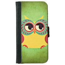 Owl iPhone 6/6s Wallet Case