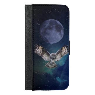 Owl iPhone 6 Plus Wallet Case