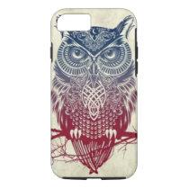 Owl iPhone 7 phone case, tough material iPhone 8/7 Case