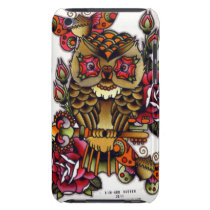 Owl iPod Case-Mate Case
