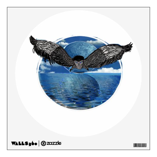 Owl Island Wall Sticker
